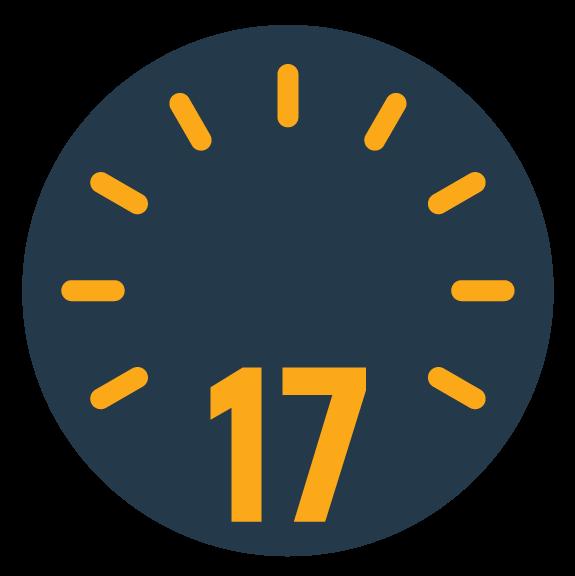 17h - Heure de récupération de commande